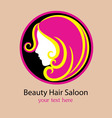 Saloon logo design vector image