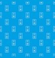 subwoofer pattern seamless blue vector image vector image