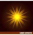 Bright sun burst Cosmic eps background vector image vector image