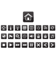 Home Automation Smart Home Icon Set vector image