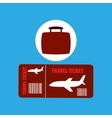 travel concept airline ticket