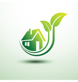 Green house3 vector image
