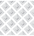 Abstract diamond grey seamless background vector image vector image