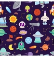 Astronomy space seamless pattern vector image vector image