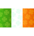 Background with flag of Ireland vector image vector image