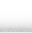 Black and white security background with HEX-code vector image vector image