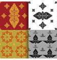 Seamless pattern of thai art vector image vector image