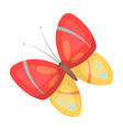 spring butterfly easter single icon in cartoon vector image vector image