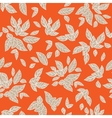 Bright leaves pattern vector image