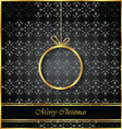 Merry Christmas background for your flyers vector image