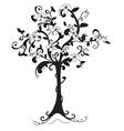 Beautiful bare tree vector image vector image