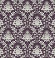 Brown wallpaper pattern vector image vector image