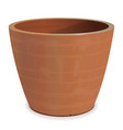 ceramic flower pot vector image