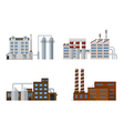 factory color set vector image vector image