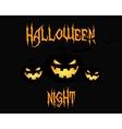 Happy Halloween party night card halloween vector image vector image