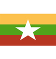 Mianmar vector image