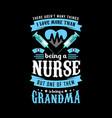 nurse t shirt designt-shirt design vintage vector image