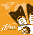 travel the world vector image vector image