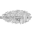 alternative technology subliminals text word vector image vector image