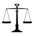 icon balance vector image vector image