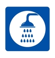 Icon with shower and drops