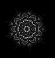 mandala oriental ornament abstract linear vector image vector image