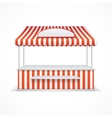 Market stall vector image vector image