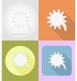 speech bubbles flat icons 03 vector image vector image