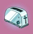 toaster kitchen equipment vector image