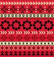 tribal aztec seamless geometric pattern navajo vector image vector image