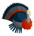 Turkey icon cartoon style vector image