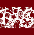a christmas background vector image