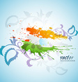 abstract flag vector image vector image