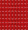 abstract red geometric background vector image vector image
