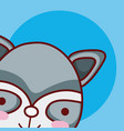 cat cute animal cartoon vector image vector image
