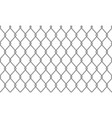chain-link fence wire mesh pattern background vector image vector image