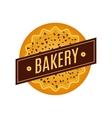Collection of vintage retro bakery logo vector image vector image