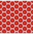 Seamless doodle grapefruit pattern vector image