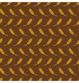 seamless pattern with wheat vector image