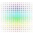 shutter shape halftone spectrum pattern vector image