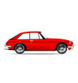 sports car coupe vector image vector image