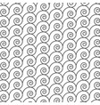 abstract pattern with spiral line good for print vector image vector image