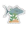 atun fish sealife food coral vector image vector image