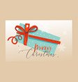hand drawn abstract fun merry christmas vector image vector image