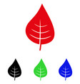plant leaf icon vector image