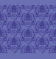 repaint seamless pattern blue scorpions vector image vector image