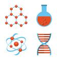 scientific laboratory vector image vector image