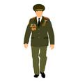 soviet army officer in uniform russian general