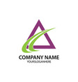 growth business company logo vector image