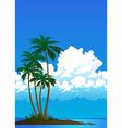 beach 03 01 vector image